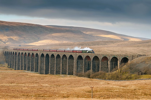 Union of South Africa Ribblehead Viaduct 2nd March 2013 by Andy Pritchard - Barrowford