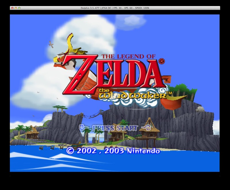 Dolpin Gamecube emulator for OS X