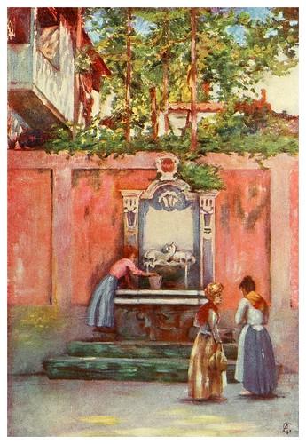 011-Fuente en Sorrento-Naples -1904- Augustine Fitzgeral