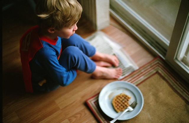 breakfast, Nikon FM2