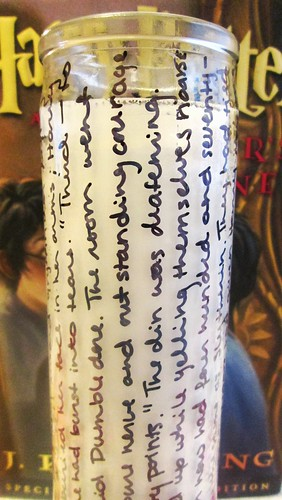 Harry Potter 1 Candle by SevenDaysBlog