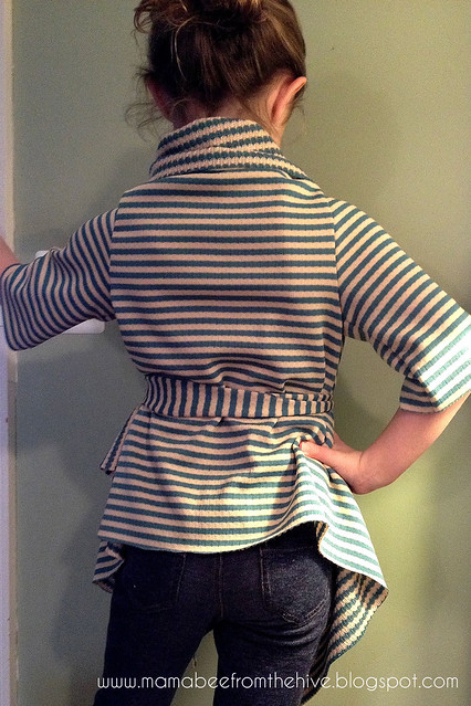 Bee's Draped Cardigan