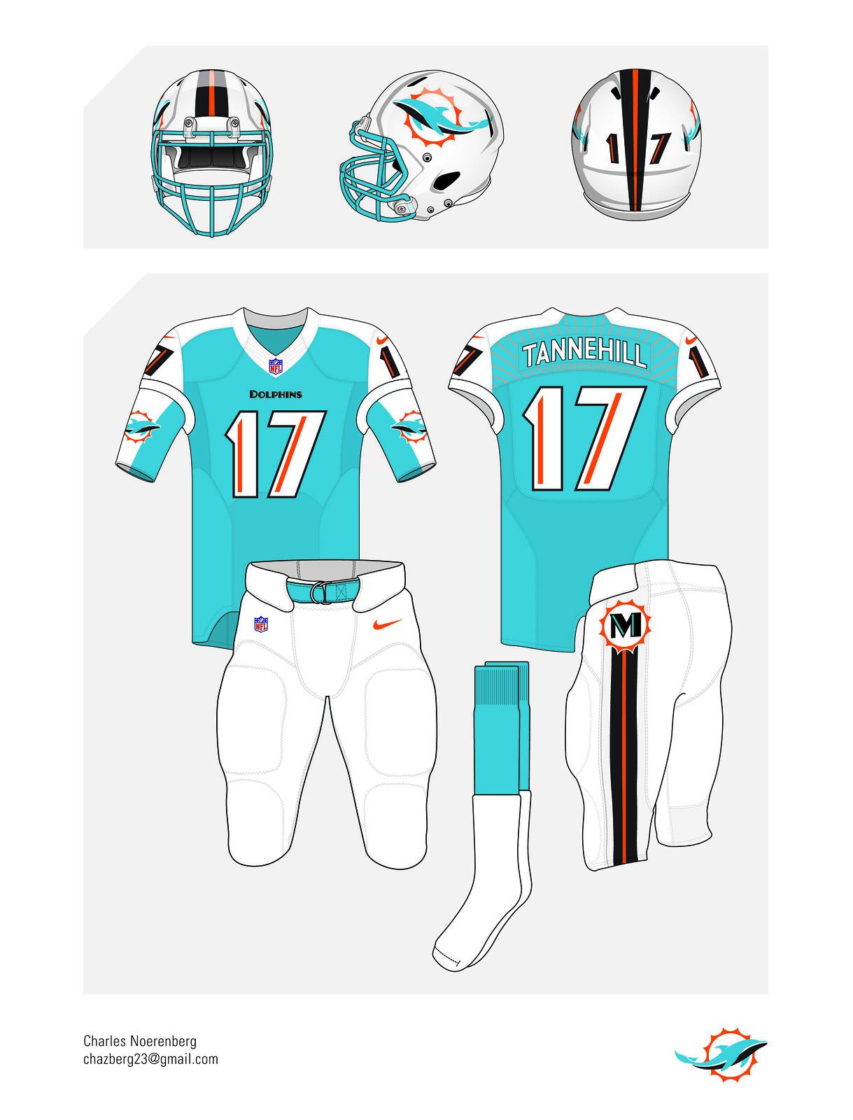 e0ad8b7a176 Uni Watch readers redesign the Dolphins - Fandom - ESPN Playbook- ESPN