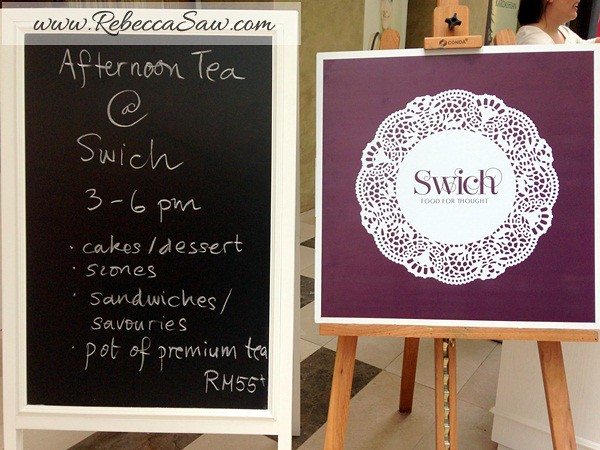 swich cafe publika - high tea for 2 RM55-001