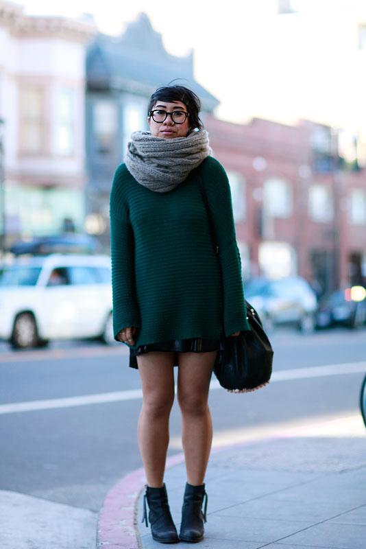 jenval street style, street fashion, women, San Francisco, Valencia Street
