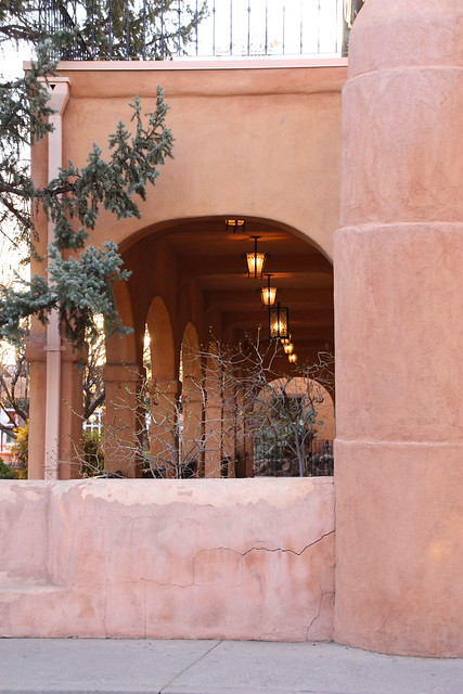 Old Town Albuquerque porch