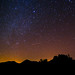 Pinnacles Night Sky by Joe Parks