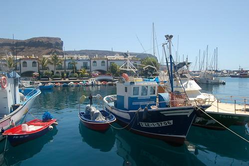Der Hafen von Taurito