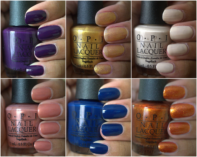 OPI Euro Centrale Collection for Spring/Summer 2013 – Part II