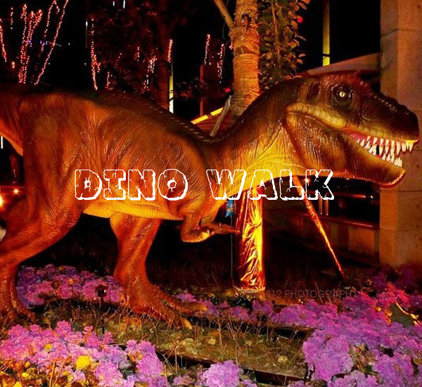 Animatronic Allosaurus with life size