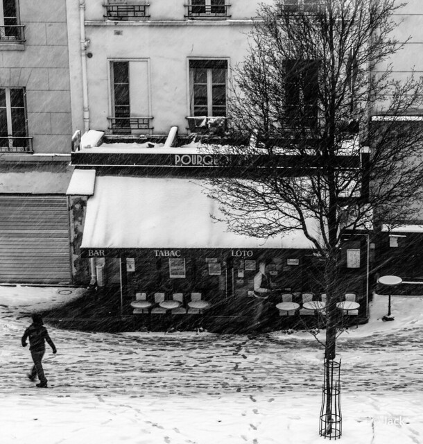 snow again in Paris (2) [On Explore]