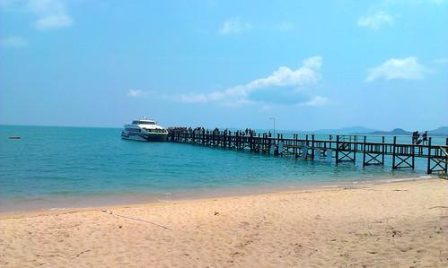Koh Samui Maenam Beach-Lomprayah Pier