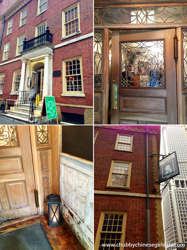 fraunces tavern - building inside
