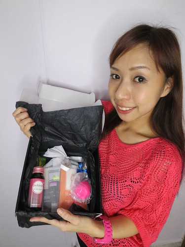 Singapore Lifestyle Blog, Singapore Beauty Blog, beauty reviews, Singapore beauty blogger,  Black Box, Sample boxes, Free sample boxes, Black box review, nadnut