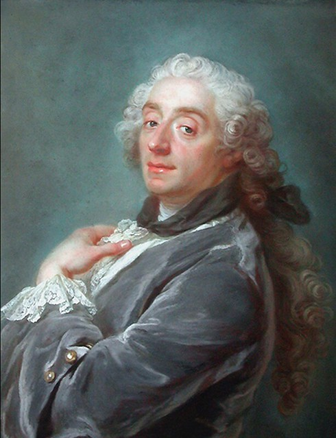 [ B ] François Boucher - Self-portrait (1741)