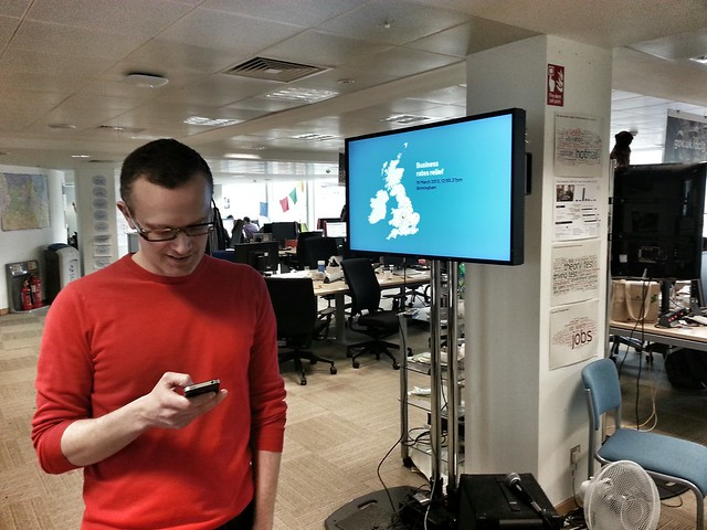 As good as real time data with @benterrett and @gdsteam