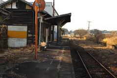 石野駅 2013年1月9日