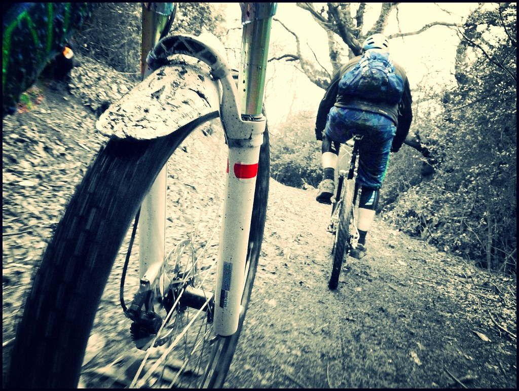 Mudguards for Manitou /reverse arch forks? – Singletrack Magazine