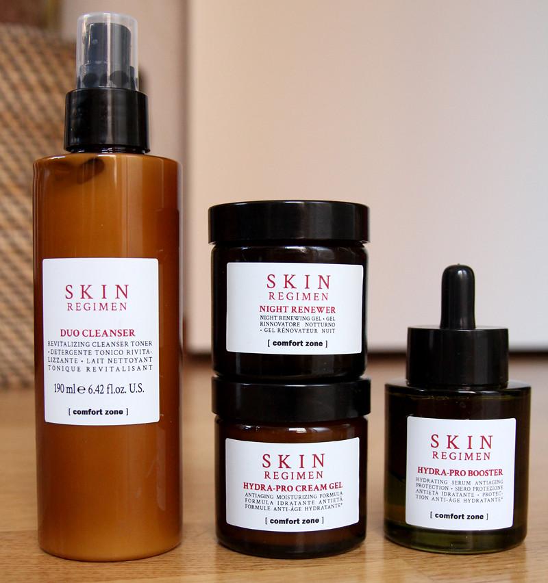 comfort zone skin regimen