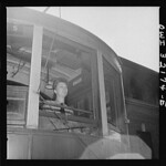 A Woman Operator at Capital Transit: 1943