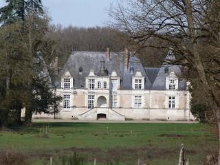 Castillo de Villesavin (Valle del Loira, Francia)