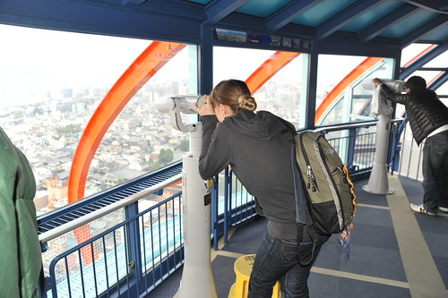 After Japan trip 2011 - day 19. Kyoto. Imperial Palace. Kyoto Tower.