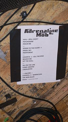 adrenaline mob set list | flickr photo sharing!