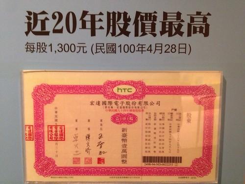 台灣股票近20年股票最高
