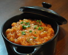Sopa de tomate. Taberna Chani