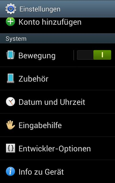 Anrdroid 4.1.2 Jelly Bean
