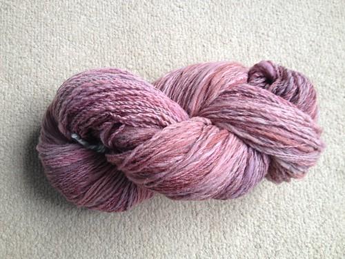 Floofy Pink yarn