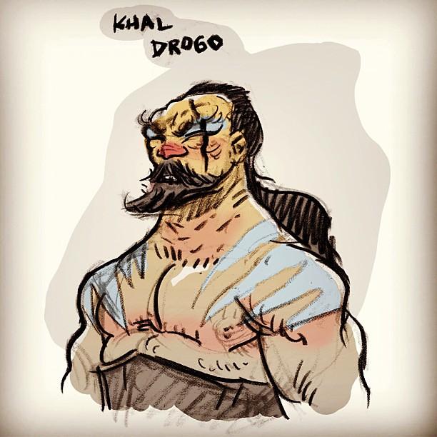 #khaldrogo #Drogo #GameofThrones