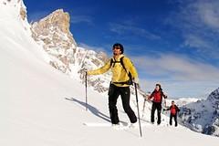 Jižní Tyrolsko: dovolená skitem na běžkách nebo na sněžnicích