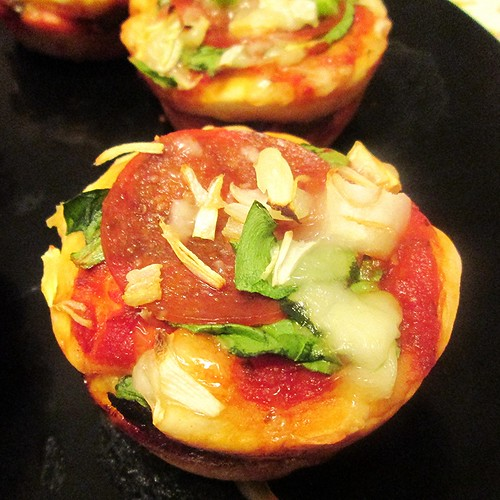 Pizza Muffins--Finished by SevenDaysBlog