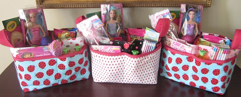 filled Easter Baskets