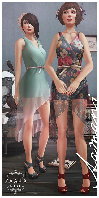 Zaara : Aamani wrap dress