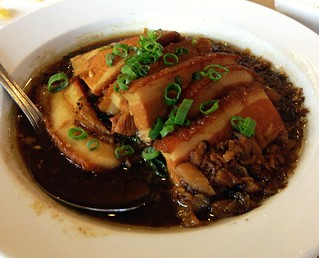 Steamed pork belly with preserved vegetable - Golden City