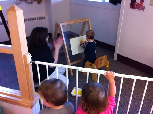 Painting at Daycare