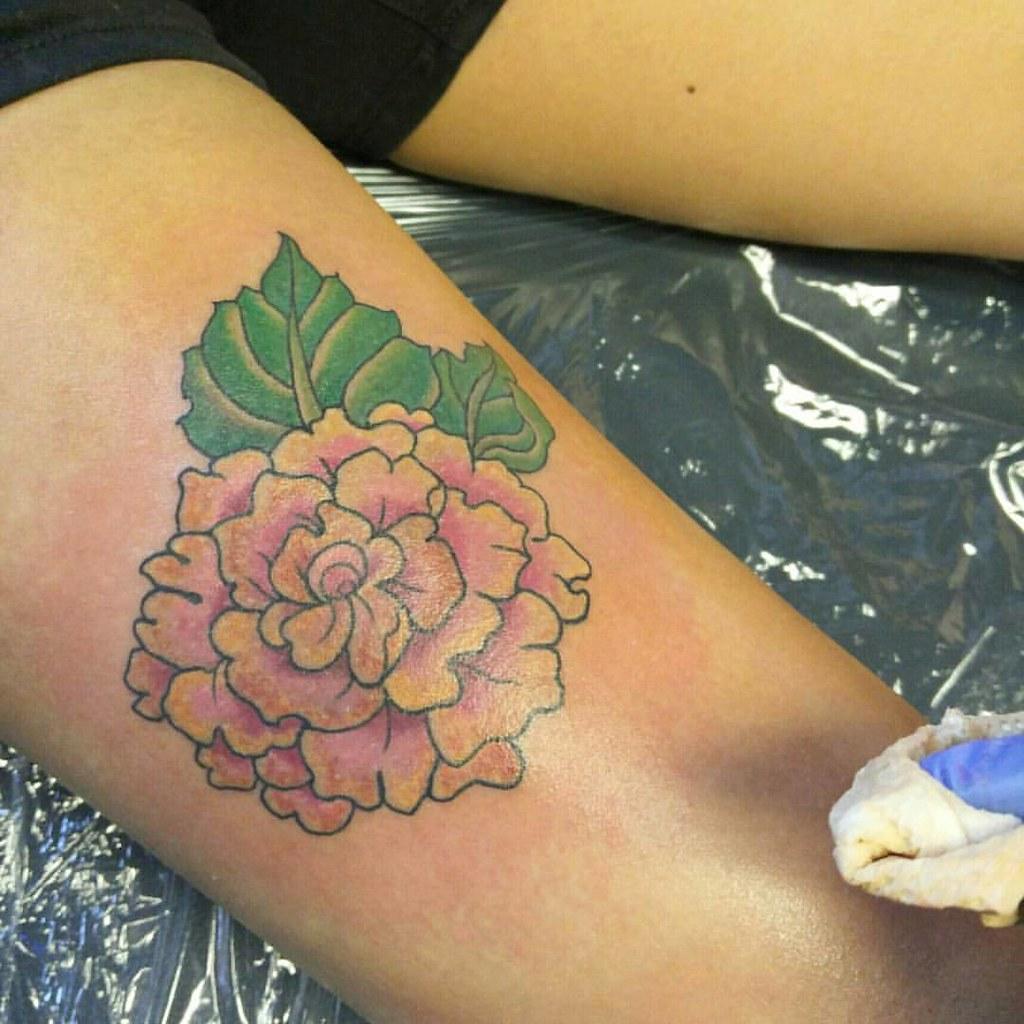 Begonia Tattoo