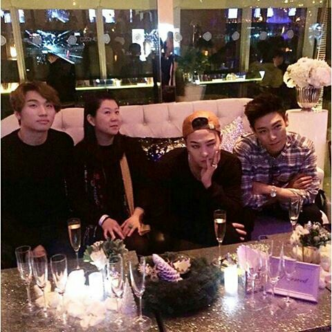 151203 Daesung, G-Dragon and TOP - Ozone at Ritz Carlton