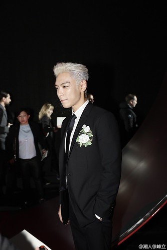 TOP - Dior Homme Fashion Show - 23jan2016 - 潮人徐峰立 - 04