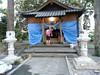 熊本・益城町の安永神社。復旧途上。