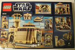 Lego Star Wars Jabbas Palace 9516 Review