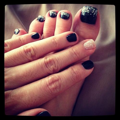 Christmas nails 201212