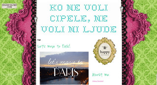 Mention about Paris in Four Months on Ko Ne Voli Cipele