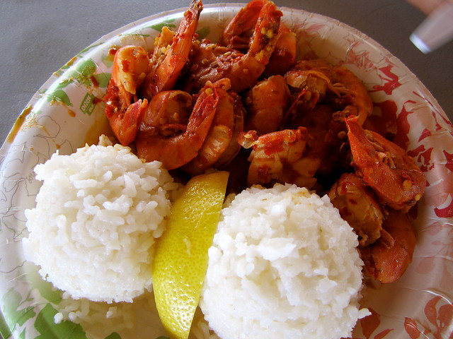 giovannes shrimp truck in hawaii