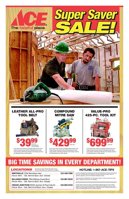 ACE Hardware Spec ad