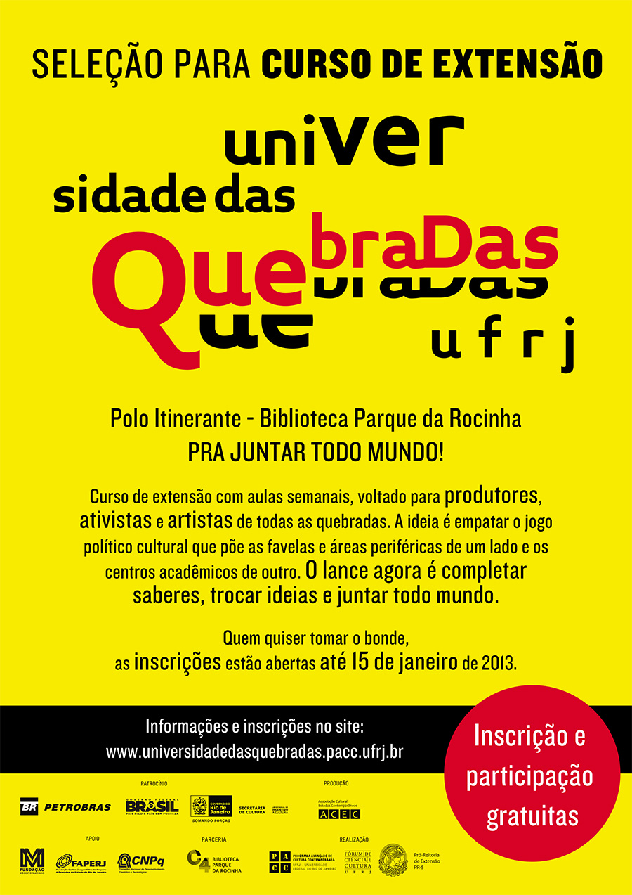 BANNER Universidade Das Quebradas