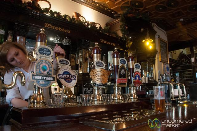 Scottish Ales on Tap - Edinburgh, Scotland