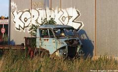 Citroën N350 Belphégor abandoned truck
